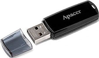USB флешка 4Gb APACER AH322 Black