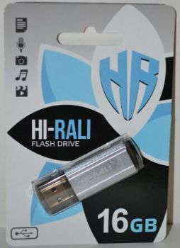 USB флешка 16Gb Hi-Rali Stark silver
