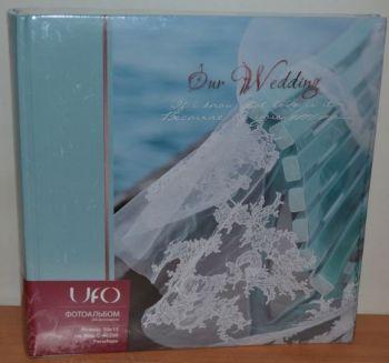 Свадебный фотоальбом на 200 фото 10х15 с местом для записей UFO Penelope