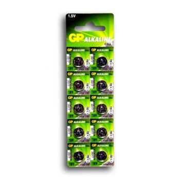 Часовая батарейка GP 189 (AG10, LR1130) блистер 1х10шт /1/10/