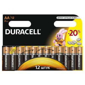 Бат Duracell LR-6 MN1500 блистер 1х12шт /12/144/