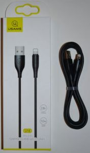 Кабель для iPhone 5 USAMS US-SJ266 2A 1м black