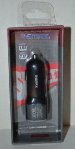 Зарядное устройство автомобильная Remax CC-201 на 2USB 2,1A black