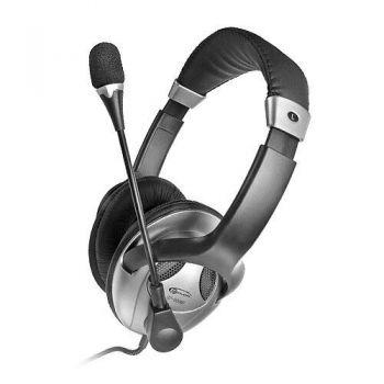Наушники+микрофон Gemix HP-909MV grey