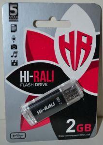 USB флешка 2Gb Hi-Rali Rocket black