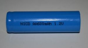 Акк Энергия НR-6 600mAh Ni-Cd коробка 1х1шт /1/