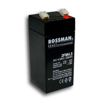 Аккумулятор Bossman Profi 4v 4,5Аh 2FM4,5 (48x48x108mm)