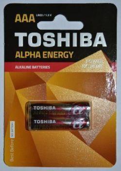 Бат Toshiba Alfa energy LR-03 блистер 1х2шт /2/20/