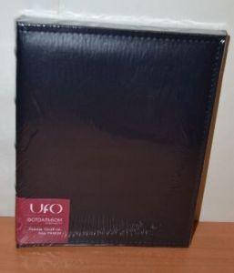 Фотоальбом на 32 фото 15х20 UFO PU-6832, кожзам, темно-синий