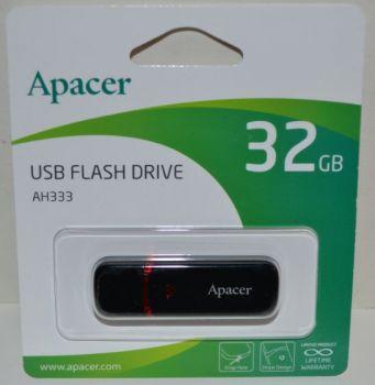 USB флешка 32Gb APACER AH333 Black