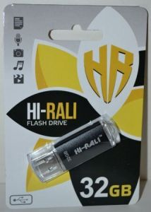 USB флешка 32Gb Hi-Rali Rocket Black