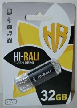 USB флешка 32Gb Hi-Rali Rocket Black