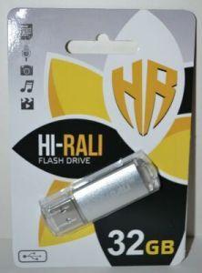 USB флешка 32Gb Hi-Rali Rocket Silver