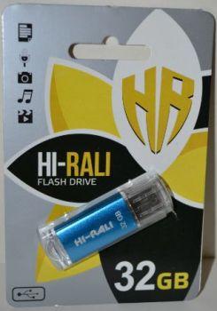 USB флешка 32Gb Hi-Rali Rocket blue