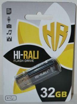 USB флешка 32Gb Hi-Rali Stark black