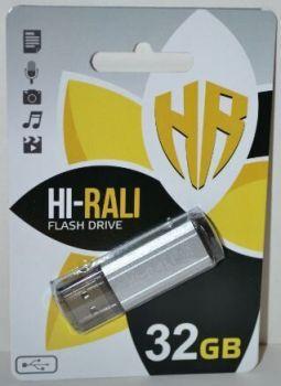 USB флешка 32Gb Hi-Rali Stark silver