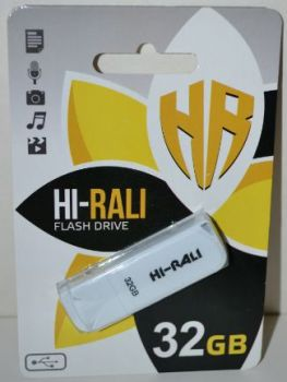 USB флешка 32Gb Hi-Rali Taga white
