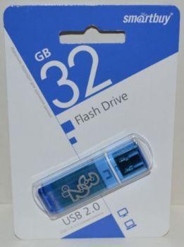 USB флешка 32Gb Smartbuy Glossy-B Blue