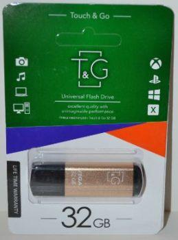 USB флешка 32Gb T&G 121 vega gold