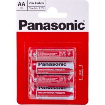 Батарейки PANASONIC Special R-6 блистер 1х4шт /4/48/240/
