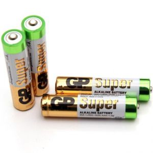 Батарейка GP Super Alkaline LR-03 коробка 1х2шт /2/40/1000/