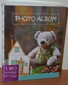 Детский фотоальбом на 300 фото 10х15 UFO PP-46300 мишка