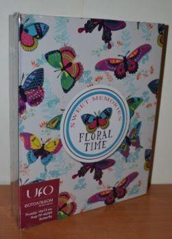 Фотоальбом на 200 фото 10х15 UFO Butterfly-1