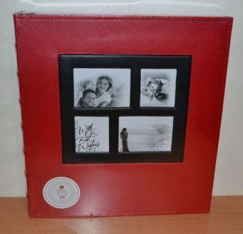 Фотоальбом на 400 фото 10х15 L001 красный