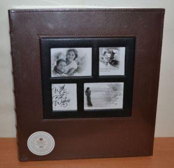 Фотоальбом на 400 фото 10х15 L001 коричневый