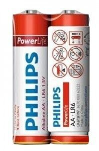 Бат Philips PowerLife LR-6 коробка 1х2шт /2/24/