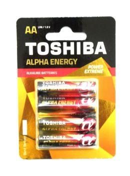 Бат Toshiba Alfa energy LR-6 блистер 1х4шт /4/40/