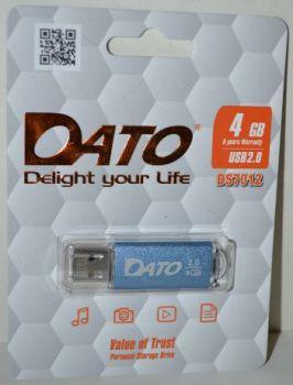 USB флешка 4Gb DATO DS7012 blue