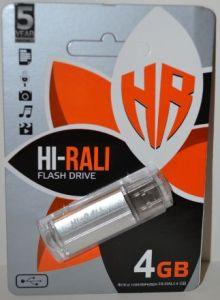USB флешка 4Gb Hi-Rali Corsair silver