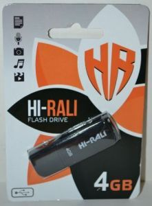 USB флешка 4Gb Hi-Rali Taga black