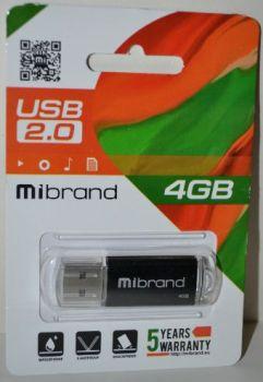 USB флешка 4Gb Mibrand Cougar black