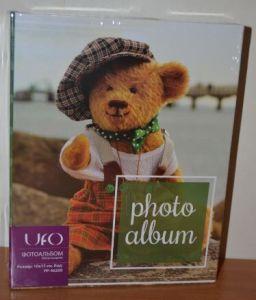 Детский фотоальбом на 200 фото 10х15 UFO PP-46200 мишка