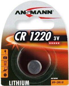 Бат Ansmann СR-1220 Lithium 1х1шт /1/10/