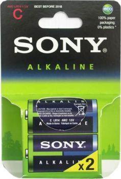 Бат SONY Alkaline LR-14 блистер 1х2шт /2/