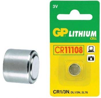 Бат GP CR-1/3N Lithium 1x1шт /1/