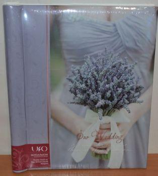 Свадебный фотоальбом самоклейка UFO 20 листов 22x32см Margaret