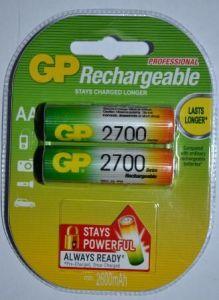 Аккумулятор GP НR-6 2700mAh Ni-MH блистер 1х2шт /2/20/