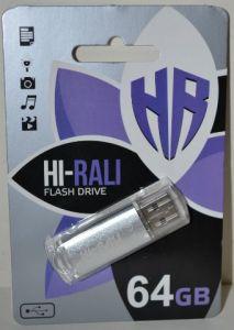 USB флешка 64Gb Hi-Rali Rocket silver