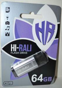 USB флешка 64Gb Hi-Rali Stark silver
