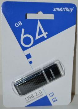 USB флешка 64Gb Smartbuy Quartz-K black