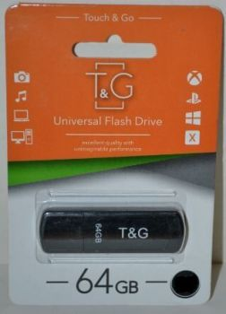 USB флешка 64Gb T&G 011 Classic black