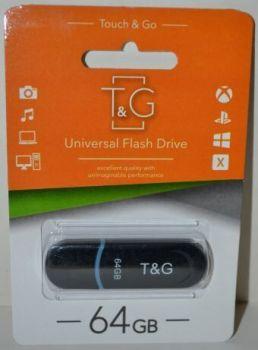 USB флешка 64Gb T&G 012 Classic black