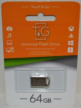 USB флешка 64Gb T&G 105 metal series