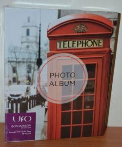 Фотоальбом на 200 фото 10х15 UFO PP-46200 телеф будка