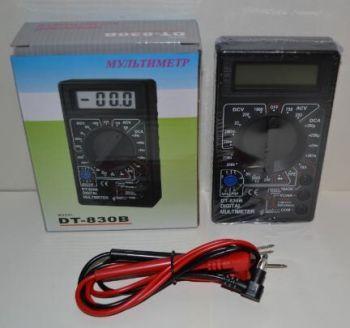 Тестер мультиметр вольтметр амперметр DT-830B