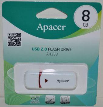 USB флешка 8Gb APACER AH333 white